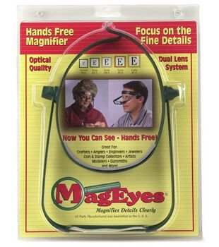 MagEyes Magnifier-With Lens #5 & #7