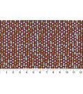 Quilter\u0027s Showcase Fabric 43\u0027\u0027-Marigold Half Circle on Navy
