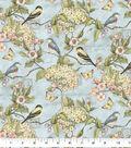 Premium Cotton Fabric-Hydrangeas & Birds