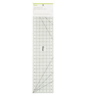 "Cricut 6""x26"" Acrylic Ruler-Mint"