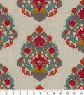 Waverly Upholstery Fabric 13x13\u0022 Swatch-Folk Lure Emb Jewel