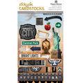 Paper House Sticky Pix Cardstock Stickers-New York City