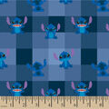 Disney Lilo & Stitch Flannel Fabric-Allover Plaid