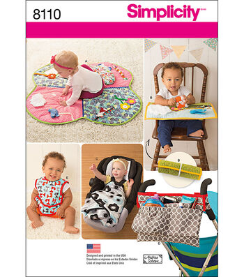 Simplicity Patterns US8110Os Crafts-One Size
