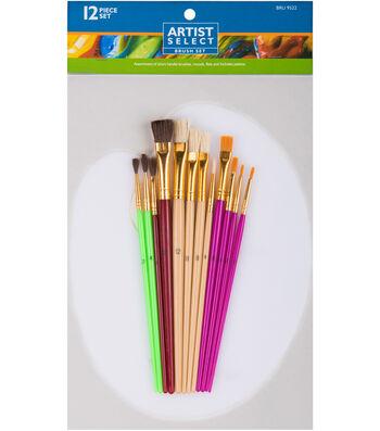 Pro Art Artist Select Brush & Palette Set