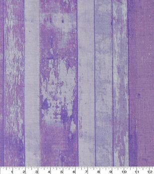 Keepsake Calico Cotton Fabric-Distressed Wood Purple