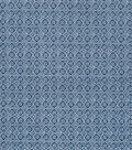 Keepsake Calico Cotton Fabric 43\u0022-Small Floral Medallion on Navy