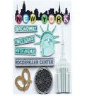 EK Success Dimensional Stickers-New York