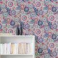 Wallpops Peel & Stick Wallpaper-Dream On Red