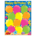 Birthday Sea Buddies Learning Chart 17\u0022x22\u0022 6pk