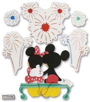 Disney Dimensional Vacation Stickers-Fireworks Mickey, , hi-res