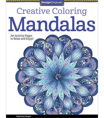 Adult Coloring Book-Creative Coloring Mandalas