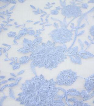 Casa Collection Dahlia Fabric-Blue Serenity Floral