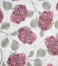 Premium Cotton Fabric-Camila Tossed Hydrangeas