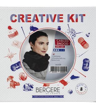 Bergere De France Snood Kit-Gris Clair