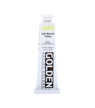 Golden Artist Colors Heavy Body Acrylic Paint-Light Bismuth Yellow