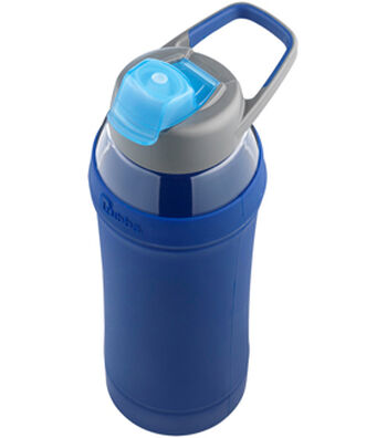 Bubba 28 oz. Capri Water Bottle with Silicone Sleeve-Blue