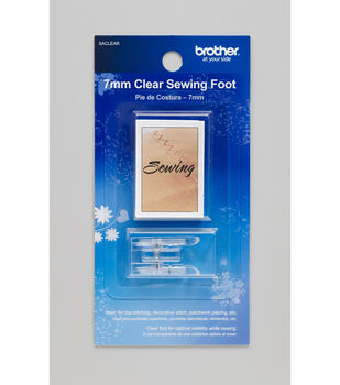 Brother SACLEAR 7mm Clear Sewing Foot