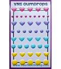 Your Next Stamp 47 pk Heart & Dot Self Adhesive Gumdrops