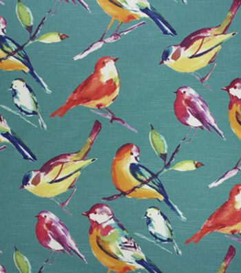 "Richloom Studio Multi-Purpose Decor Fabric 54""-Lisette Peacock"