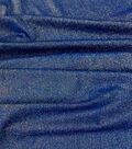 Casa Embellish Spring Stretch Metallic Knit Fabric -Dazzling Blue