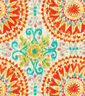 Dena Upholstery 8x8 Fabric Swatch-Give It A Whirl/Sundance