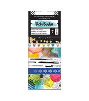 Vicki Boutin Mixed Media Washi Tape 42 Yards-Watercolor, 7 Designs, , hi-res