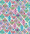 Modern Premium Cotton Print Fabric 43\u0027\u0027-Multi Patterned Triangles
