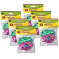 Happy 100th Day Wristbands, 10 Per Pack, 6 Packs