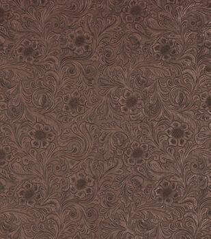 Richloom Studio Upholstery Vinyl Fabric-Diviani Oak
