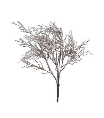 Blooming Holiday Christmas 21'' Flocked Branch Bush