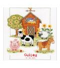 Vervaco 8.75\u0027\u0027x11.5\u0027\u0027 Counted Cross Stitch Kit-At the Farm Record