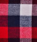 Cotton Shirting Fabric 42\u0027\u0027-Red, White & Blue Checked