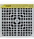 Crafter\u0027s Workshop Template 12\u0022X12\u0022-Mesh Blocks