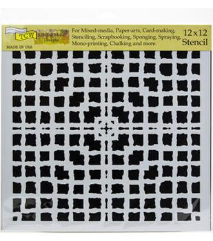 "Crafter's Workshop Template 12""X12""-Mesh Blocks"