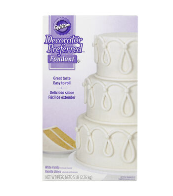 Decorator Preferred Fondant 5lb-White
