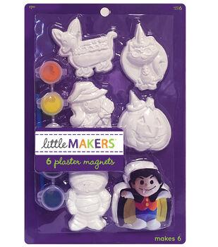 Little Maker's Halloween Plaster Magnet Kit