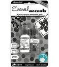 Ranger .5 oz. Inkssentials Enamel Accents-2PK/Black & White