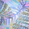 Fast Fashion Yoryu Chiffon Fabric-Purple Cancun