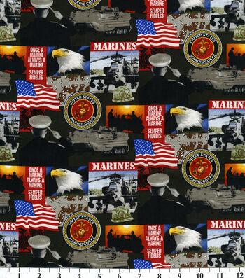 United States Military Cotton Fabric -Logo