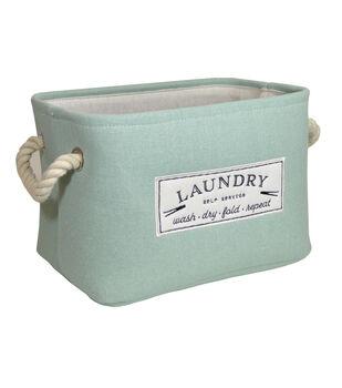 Small Fabric Bin-Laundry Self Service