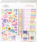 Doodlebug Essentials Page Kit 12\u0022X12\u0022-Under The Sea