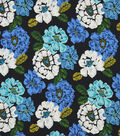 Robert Allen @ Home Lightweight Decor Fabric 55\u0022-Brushed Floral Ultramarine