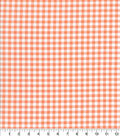 Keepsake Calico Cotton Fabric-Check Coral