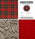 It\u0027s Sew Simple Handmade Holiday Christmas Fresh Cut Tree Skirt Kit
