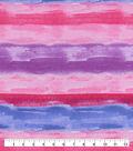 Snuggle Flannel Fabric-Pink Purple Watercolor Tie Dye