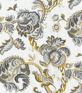 Waverly Multi-Purpose Decor Fabric 56\u0022-Summer Canvas/Noir