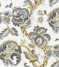 Waverly Multi-Purpose Decor Fabric 56\u0022-Summer Canvas/Noir