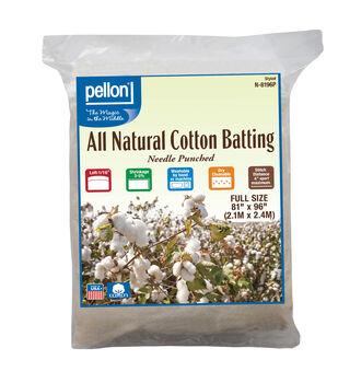 Pellon All Natural Cotton Batting-Full