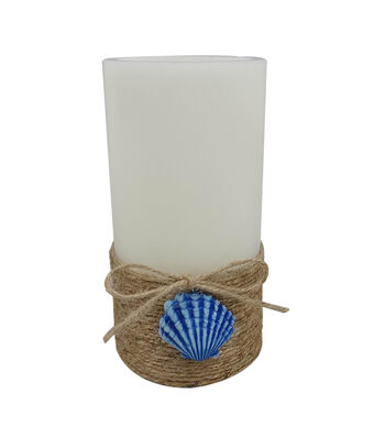 Indigo Mist 3''x6'' LED Candle